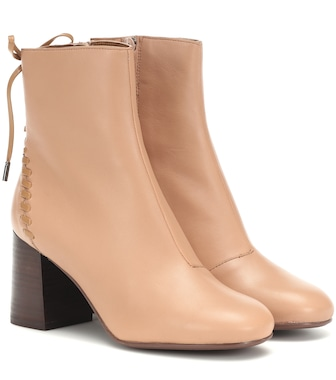 See By Chloé - Reese leather ankle boots - mytheresa.com