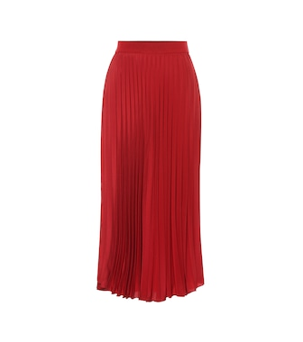 Moncler - Pleated midi skirt - mytheresa.com