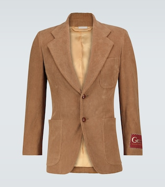 Gucci - Exclusive to Mytheresa - single-breasted corduroy blazer - mytheresa.com