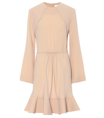 Chloé - Crêpe dress - mytheresa.com