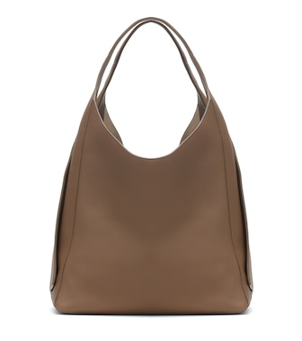 Loro Piana - Leather shoulder bag - mytheresa.com