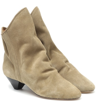 Isabel Marant - Doey suede ankle boots - mytheresa.com