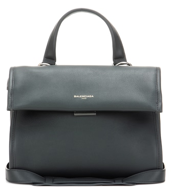 Balenciaga - Tool Satchel Small leather tote bag - mytheresa.com