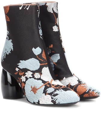 Dries Van Noten - Jacquard ankle boots - mytheresa.com