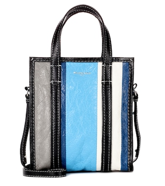 Balenciaga - Bazar Shopper XS leather bag - mytheresa.com