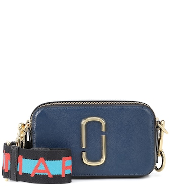Marc Jacobs - Snapshot Small leather camera bag - mytheresa.com