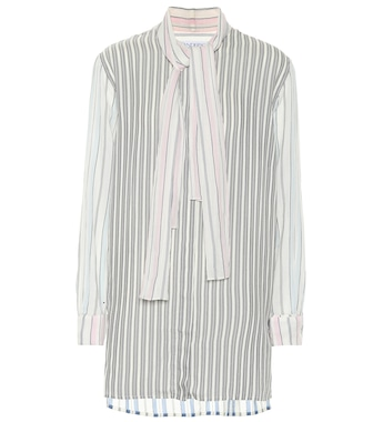 JW Anderson - Cotton and silk-blend shirt - mytheresa.com