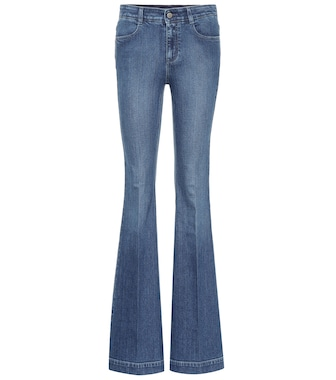 Stella McCartney - High-waisted bootcut jeans - mytheresa.com