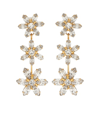 Jennifer Behr - Holly embellished earrings - mytheresa.com