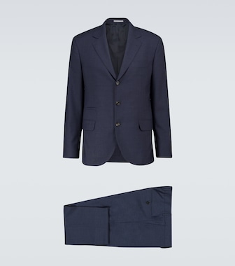 Brunello Cucinelli - Single-breasted wool suit - mytheresa.com
