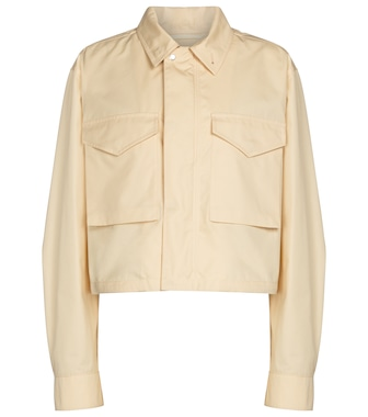 Jil Sander - Cropped military-inspired jacket - mytheresa.com