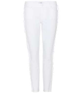 7 For All Mankind - Roxanne Crop mid-rise jeans - mytheresa.com