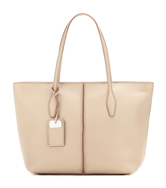 Tod's - Joy medium leather shopper - mytheresa.com