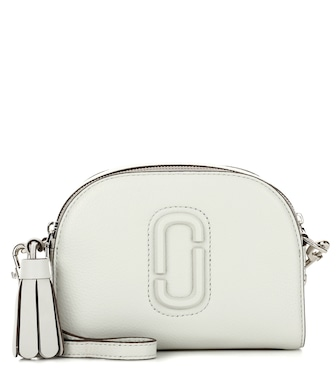 Marc Jacobs - Shutter Small leather crossbody bag - mytheresa.com