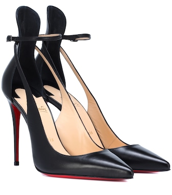 Christian Louboutin - Mascara 100 leather pumps - mytheresa.com
