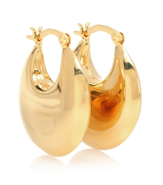 Sophie Buhai - Creolen Classic Cowbell aus 18kt Gelbgold - mytheresa.com