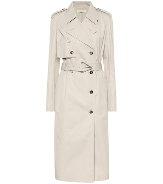 Bottega Veneta - Cotton-blend gabardine trench coat - mytheresa.com