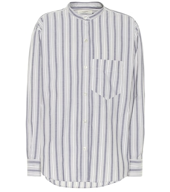 Isabel Marant, Étoile - Satchell striped cotton shirt - mytheresa.com