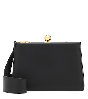 Ratio et Motus - Mini Twin leather shoulder bag - mytheresa.com