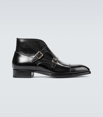 Tom Ford - Sutherland double monk strap shoes - mytheresa.com