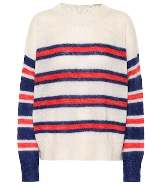 Isabel Marant, Étoile - Russell striped mohair-blend sweater - mytheresa.com