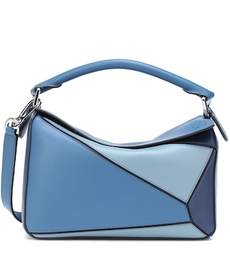 Loewe - Puzzle leather shoulder bag - mytheresa.com
