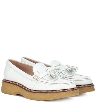 Tod's - Patent leather loafers - mytheresa.com