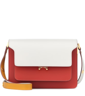 Marni - Trunk leather shoulder bag - mytheresa.com