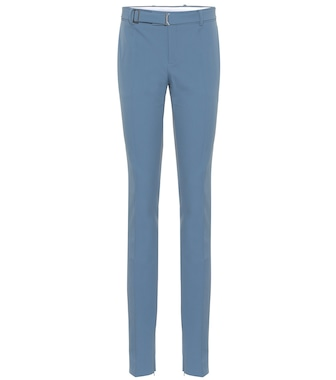 Bottega Veneta - Technical gabardine skinny pants - mytheresa.com