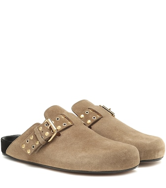 Isabel Marant - Mirvin suede slippers - mytheresa.com