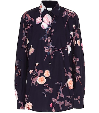Dries Van Noten - Floral cotton shirt - mytheresa.com