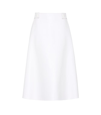 Marni - Runway skirt in faux leather - mytheresa.com