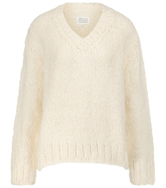 Maison Margiela - Silk and cashmere sweater - mytheresa.com