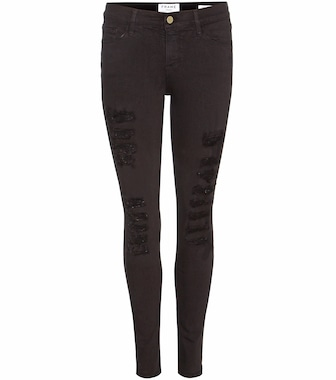 Frame - Le Color Ripped skinny jeans - mytheresa.com