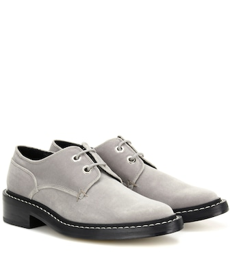 Rag & Bone - Kenton velvet derby shoes - mytheresa.com