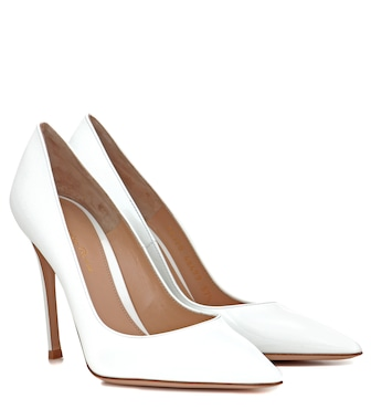Gianvito Rossi - Pumps Gianvito 105 aus Lackleder - mytheresa.com