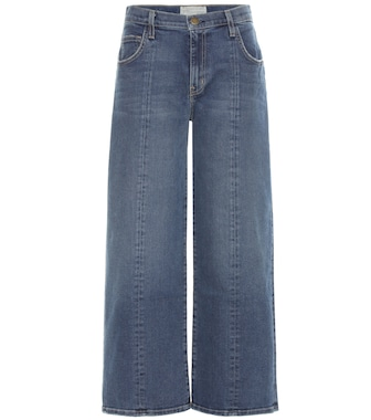 Current/Elliott - Wide-leg cropped jeans - mytheresa.com
