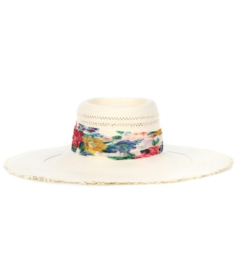 Zimmermann - Exclusive to mytheresa.com – straw hat - mytheresa.com