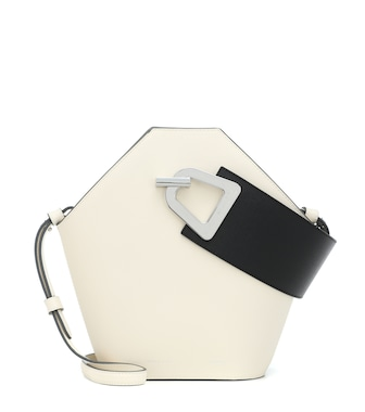 Danse Lente - Johnny leather tote - mytheresa.com