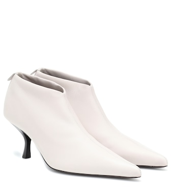 The Row - Ankle Boots Bourgeoise aus Leder - mytheresa.com