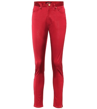 Undercover - Cotton-blend high-rise pants - mytheresa.com
