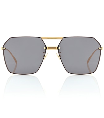 Bottega Veneta - Square sunglasses - mytheresa.com