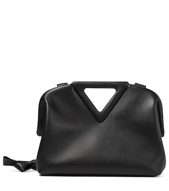 Bottega Veneta - Bolso al hombro Point Medium de piel - mytheresa.com