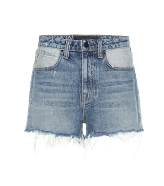 Alexander Wang - Bite high-rise denim shorts - mytheresa.com