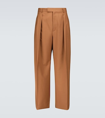 Valentino - Valentino wool and mohair pants - mytheresa.com