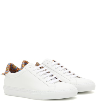 Givenchy - Urban Knots leather sneakers - mytheresa.com