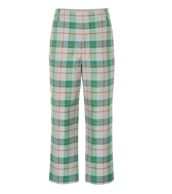 Tibi - Plaid cotton-blend pants - mytheresa.com