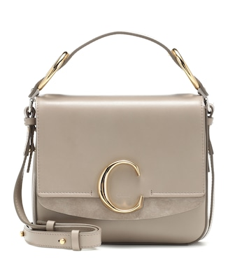 Chloé - Chloé C Small leather shoulder bag - mytheresa.com