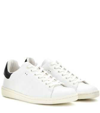 Isabel Marant - Étoile Bart leather sneakers - mytheresa.com