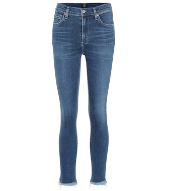Citizens of Humanity - Rocket Crop skinny jeans - mytheresa.com